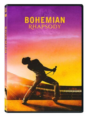 Bohemian Rhapsody (DVD, 2018 - Queen) FREE S/H New & Sealed