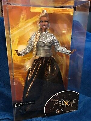 Disney Barbie Collector A Wrinkle in Time Mrs. Which Doll Kid Toy Gift