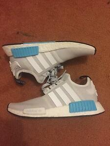 White and blue adidas nmd Belrose Warringah Area Preview