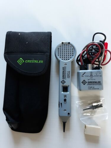 Greenlee 701K-G Tone and Probe Tracing Kit. 200EP-G probe and 77HP-g toner