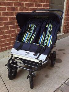 Urban mountain buggy double stroller
