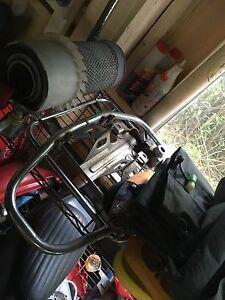 Honda postie ct110 racks and engine guard Palm Beach Gold Coast South Preview