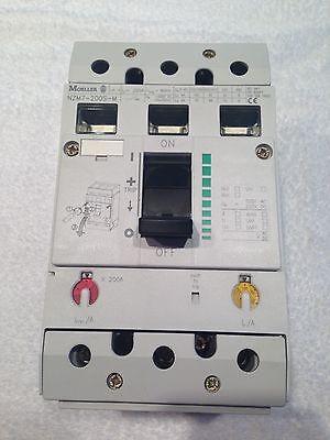 Moeller Nzm7-200s-m New In Box Circuit Breaker 200 Amp 3 Pole 400 Volts