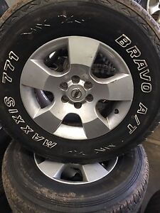 Nissan tyres and rims-255/70R16 - 111T Rocklea Brisbane South West Preview