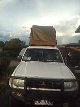 1999 Mitsubishi Pajero Wagon with roof top tent West Perth Perth City Preview