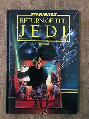 Vintage Star Wars Return Of The Jedi Hard Back Annual 1983