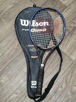 Wilson Graphite Quad 110 OverSize Tennis Racket Grip 4 3/8  na sprzedaż  Wysyłka do Poland