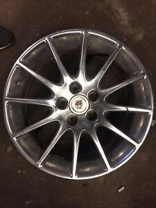 Cadillac CTS Chrome rims 18x8