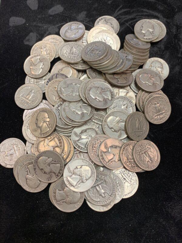 90% Silver Washington Quarters (1932-1964)