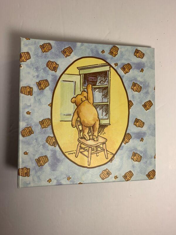 DISNEY Winnie The Pooh Photo Album, Book Binder Keepsake, Holds 100 4x6 Pictures