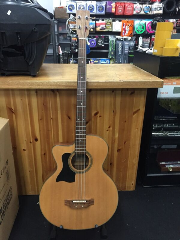 Tanglewood TAB2C-LH  Lefthand Electro Acoustic Bass Guitar Solid Top -Shadow P4