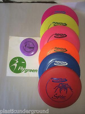 NEW FRISBEE GOLF INNOVA BUILD YOUR OWN STARTER SET 6 DISCS + MINI MARKER & MORE!](Frisbee Golf Set)