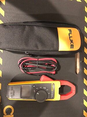 New Fluke 373 True-rms Trms Current Clamp Meter 600a 600v Acdc Ammeter Probe