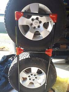 Nissan Navara  D40 2010 Thai Rims & tires Bellbird Cessnock Area Preview