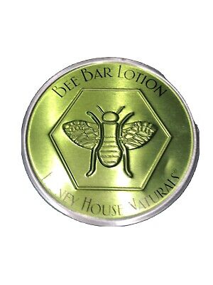 Honey House Naturals Bee Bar Body Lotion Spring Meadow in Tin New 2.0 oz