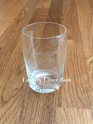 ss United States Stateroom Water Tumbler, USL