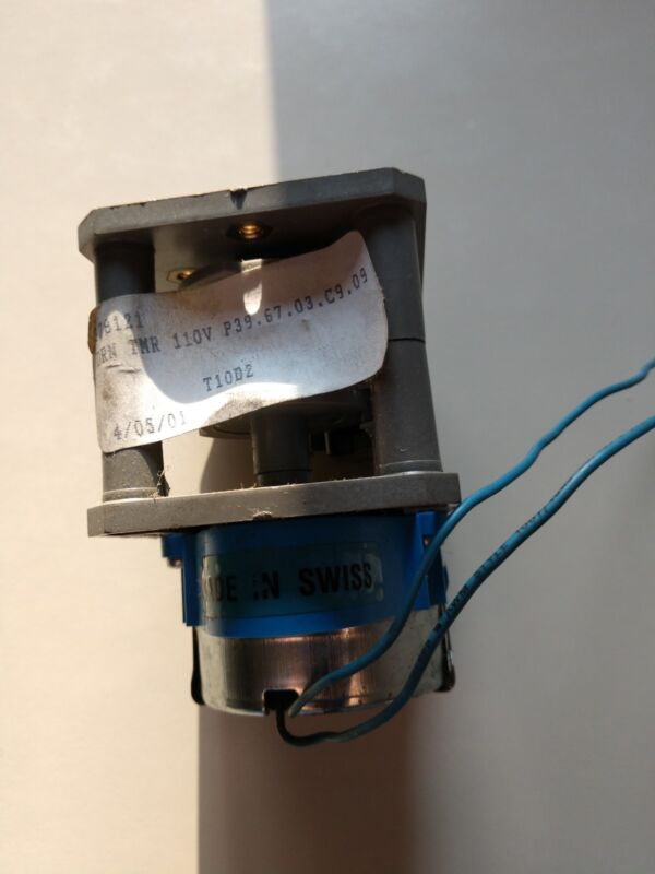 FIBER P39-67 ELECTRIC TIMER RELAY
