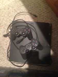 PS3, mint, 2controllers, 7 games, headset
