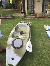 fishing canoe with carbon fibre paddle Wollongong 2500 Wollongong Area Preview
