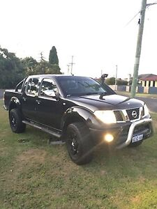 PRICE DROP Nissan Navara STX Low Head George Town Area Preview
