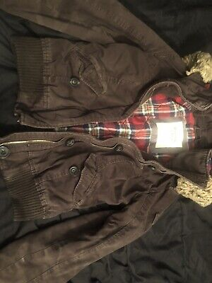Abercrombie And Fitch Winter Brown Jacket