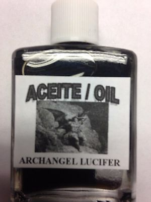 MYSTICAL / SPIRITUAL OIL ACEITE FOR SPELLS & ANOINTING 1/2 OZ ARCHANGEL LUCIFER
