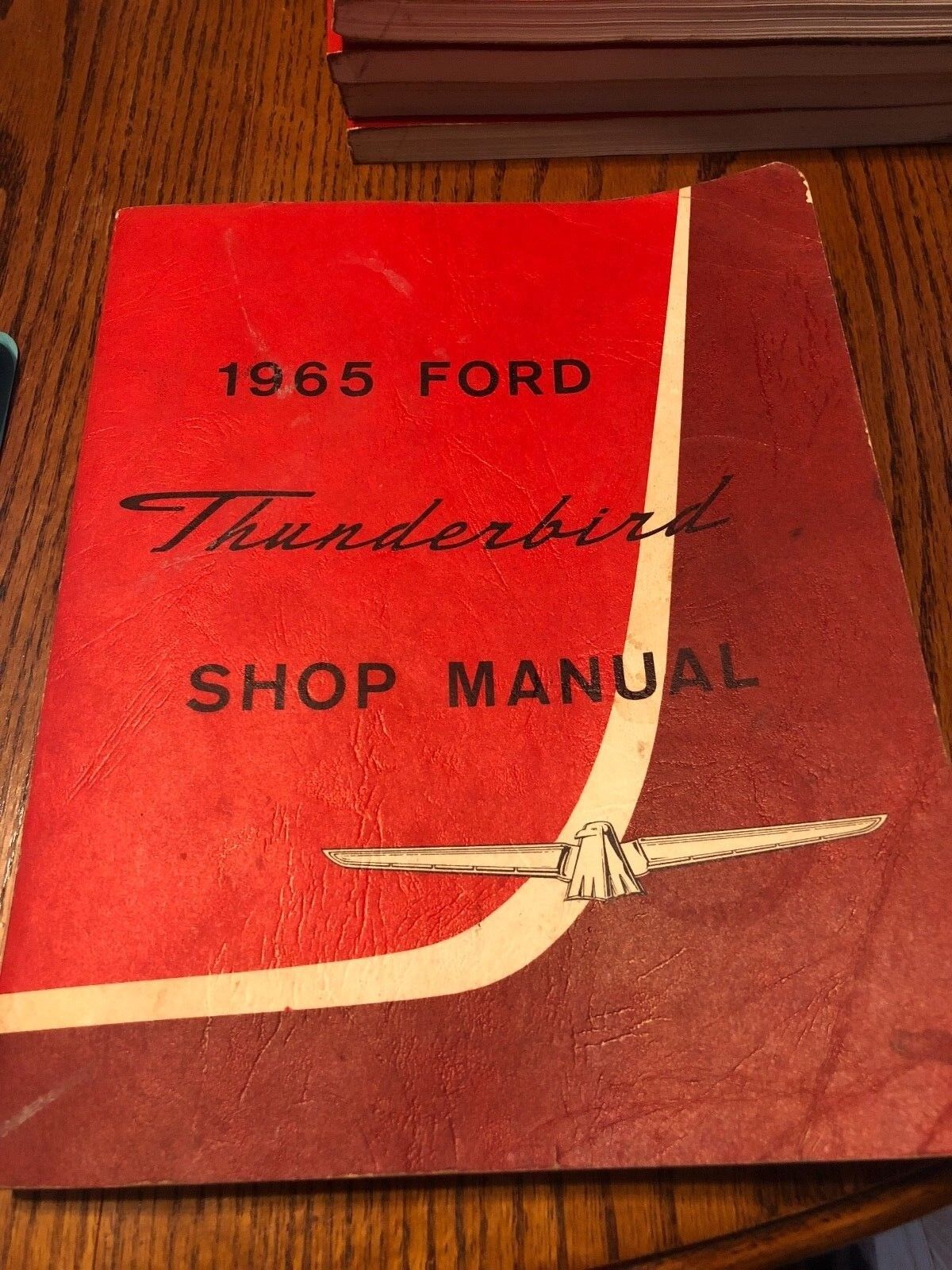 1965 FORD THUNDERBIRD REPAIR MANUAL ORIGINAL