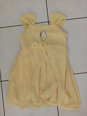 Mädchen Kinder Prinzessin Disney Kleid Belle in Größe - Prinzessin Belle Kleid