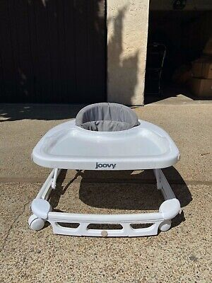 Joovy 00129 Spoon Foldable Baby Walker - Charcoal. Great Condition