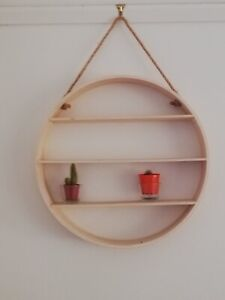 Hanging Shelf - round...stylish home accessory Croydon Park Canterbury Area Preview