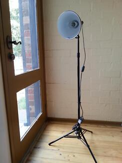 Stylish black floor lamp in great condition