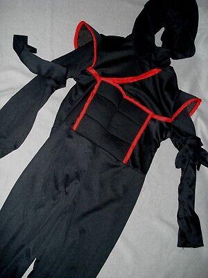 Japanese Ninja Costume (Ninja Warrior Costume - Japanese Military Warrior Stealth Cosplay Dress up)