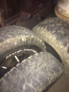 3 tires 35''   35x12.50x15