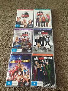 The Big Bang Theory seasonal 1-6 Engadine Sutherland Area Preview