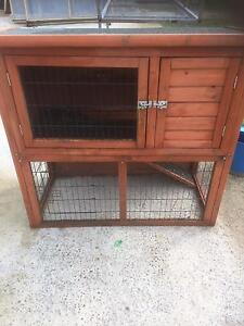 Rabbit hutch and cage Casula Liverpool Area Preview