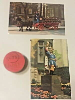 Pabst Blue Ribbon Beer, Post Cards, Keg Plug, Beer Barrel Wooden Plug Cap  for sale  Hartford