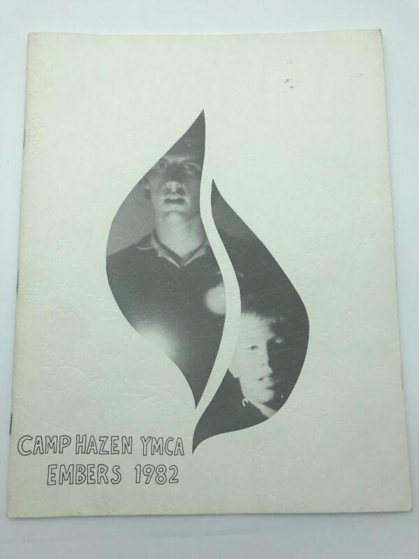 Camp Hazen YMCA Chester Connecticut 1982 Embers Yearbook Photographs Sleepaway
