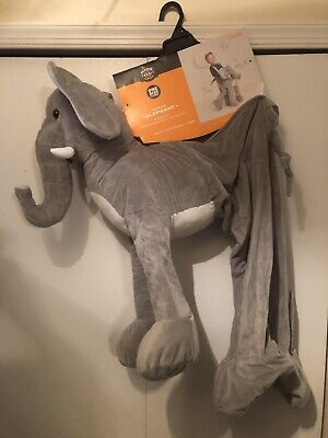 Elephant Rider Costume (Hyde Eek ELEPHANT Ride On Rider Plush Costume Cosplay Toddler Child One)
