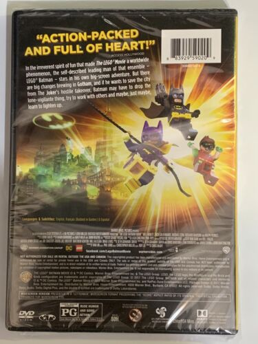 THE LEGO BATMAN MOVIE - DC FILMS Brand New Factory Sealed W/ Quick And Free Ship - $6.49