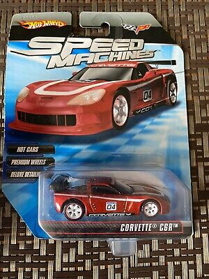 Hot Wheels Speed Machines Chevy Corvette C6R Red 1:64 MOC 2009