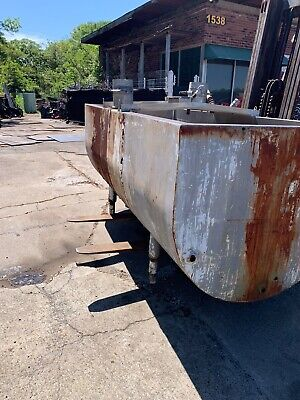 Stainless Steel Tub Tank For Acid Dipping Used - Acceptable