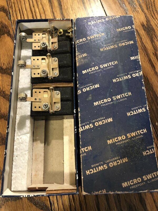 Honeywell Micro Switch 6AS16 Basic / Snap Action