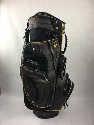 14 way w/ Putter Slot Black Sun Mountain MCB Cart Golf Bag, 9 pockets/ cooler - Mountain Putter Golf Bag