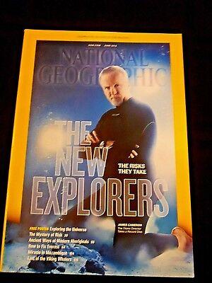 National Geographic 2013 New Explorers, Modern Aboriginals, Viking Whalers VG+