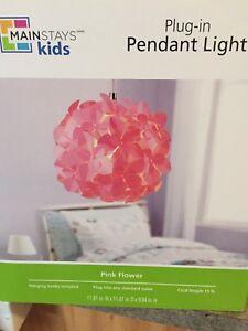 Brand new pink flower light