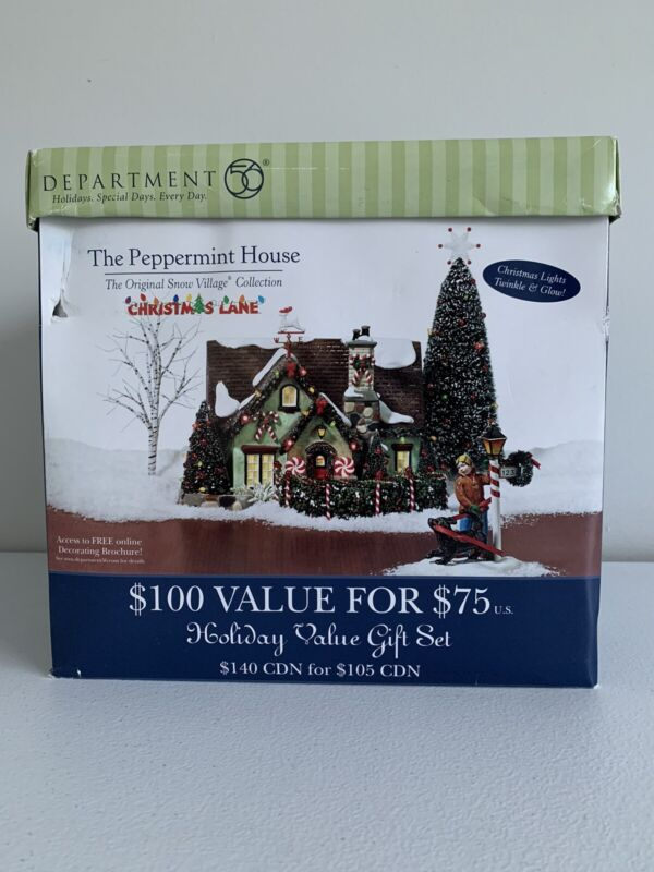 Dept 56 The Peppermint House 55350 Retired Never Displayed