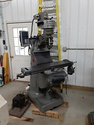 Bridgeport 9x42 Newall C80 Servo Kurt Vise Walter Rotary Table Albrecht