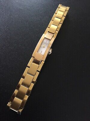 GUCCI Ladies Watch Model 4600L Gold Plated Stainless Steel Swiss Made Quartz MVT