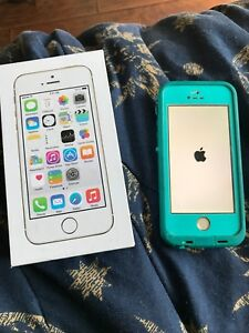 Iphone 5s- gold 16gb- bell