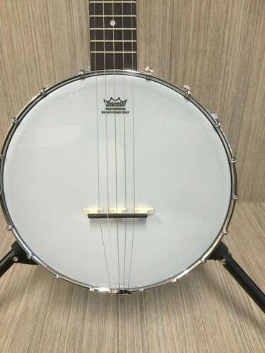 Caraya 5 String Open Back Banjo 19 Fret Black  BJ-30